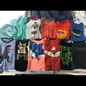 Lot of 2t and 3t boys clothes